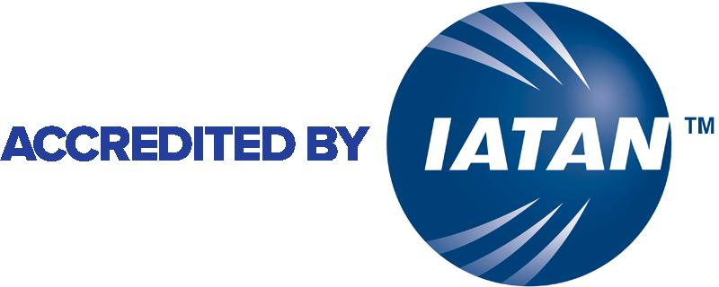 IATAN Accredited seal